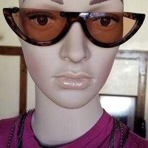 Brown Half Sunglasses